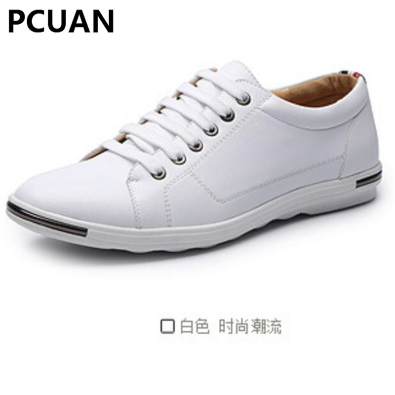 Sporting 2019 Autumn New Mens Peas Shoes Waterproof Sets Of Feet Driving Shoes Casual Explosion Models Large Size Shoes 36-47 Yards Men's Shoes Men's Casual Shoes