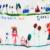 Oso Líder Niñas Vestidos de Verano 2016 de la Marca Vestido de la Princesa de Impresión Personaje de Dibujos Animados Niñas Cabritos del Vestido de Partido Ropa Vestidos 3-10Y