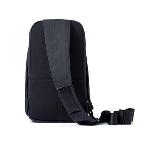 Image 4 - Original Xiaomi Backpack urban leisure chest pack For Men Women Shoulder Type Unisex Rucksack for camera DVD phones Travel bag