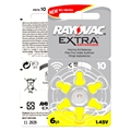 60 x Zinc Air Rayovac Extra Performance Hearing Aid Batteries 10/A10/PR536. Hearing Aid Batteries 10 10A Free Shipping!