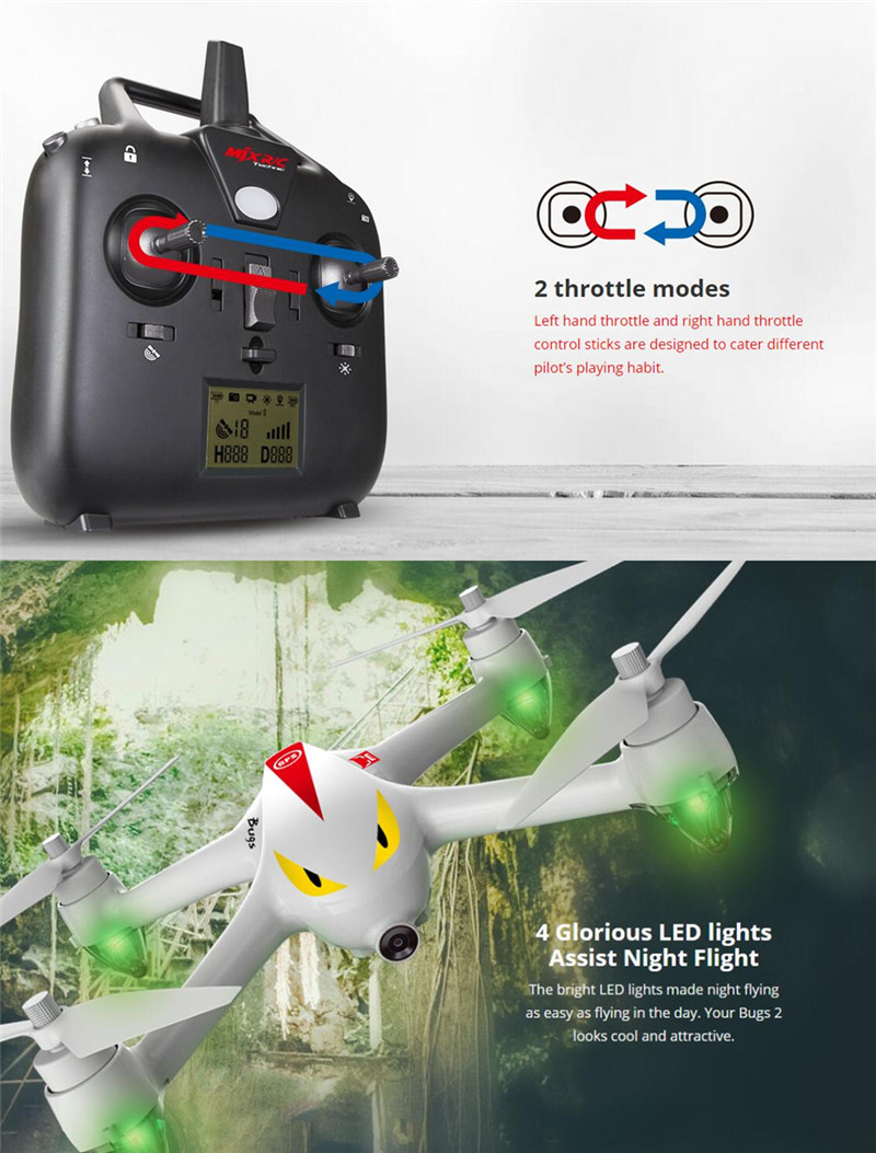 GPS Drone MJX B2W RC Drones With FPV Camera Brushless Remote Control Helicopter Quadcopter Toys Christmas Gift To Boyfriend