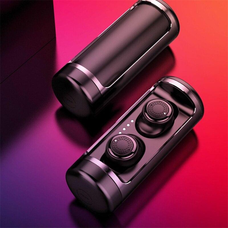 OVEVO Q63 TWS Monitor de Fone de ouvido Estéreo Surround de Alta Fidelidade do bluetooth 5.0 Fone De Ouvido 3D IPX5 À Prova D' Água com Suporte de Carregamento