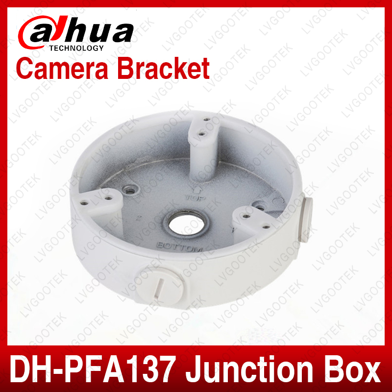 Dahua Waterproof Junction Box PFA137 For Dahua IP Camera IPC-HDW5231R-ZE IPC-HDW5831R-ZE SD22404T-GN CCTV Mini Dome Camera