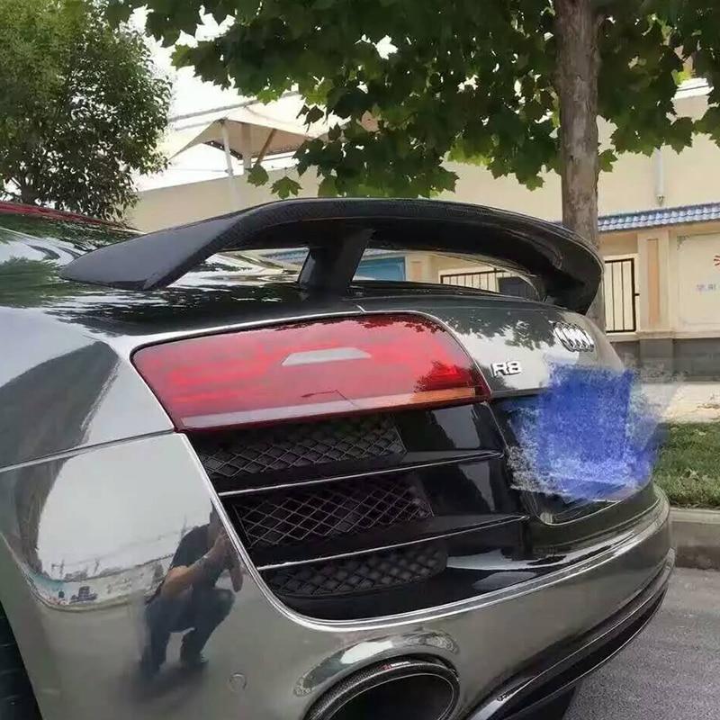 R8 GT Style Carbon Fiber Auto αυτοκίνητο Πίσω - Ανταλλακτικά αυτοκινήτων - Φωτογραφία 6