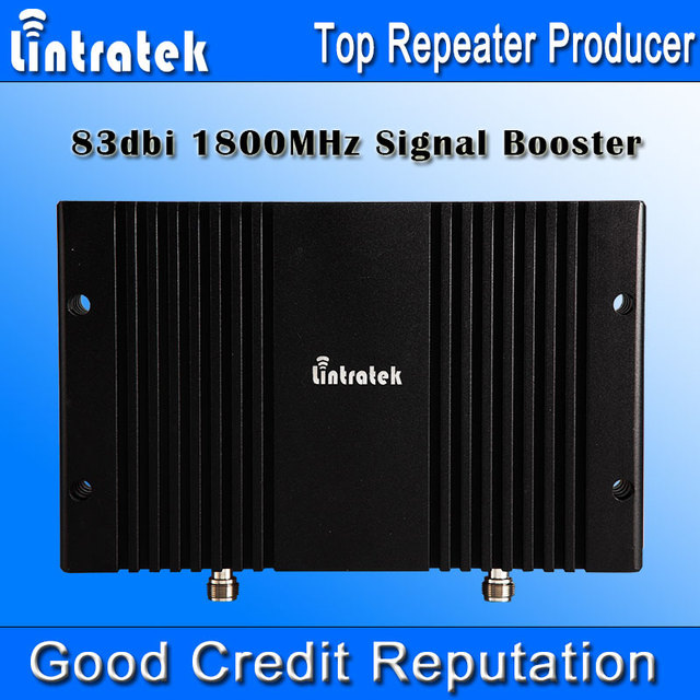 Lintratek 4G Cell Phone Signal Booster 1800 mhz Repetidor 4G LTE 83dbi 1800 Mhz Display LCD AGC MGC 33dbm Repetidor GSM 1800 4G S30