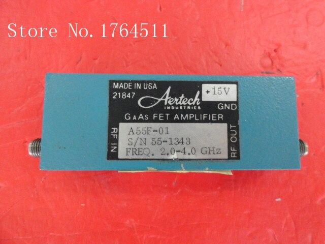 [BELLA] AEITECH A55F-01 2-4GHz G:30dBm P:5dB Supply 15V SMA Amplifier