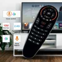 G30 remote control 2.4G Wireless Air Mouse Gyro Voice Control Sensing Universal Remote control IR Learning For PC Android TV Box