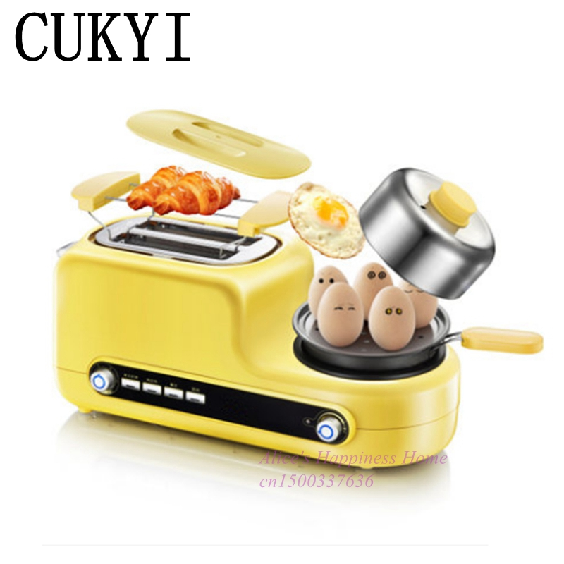 CUKYI New high quality  Multifunctional household toaster Mini breakfast cukyi high quality slow cooker household steam stew multifunction birdsnest pregnant tonic baby supplement nutritious breakfast