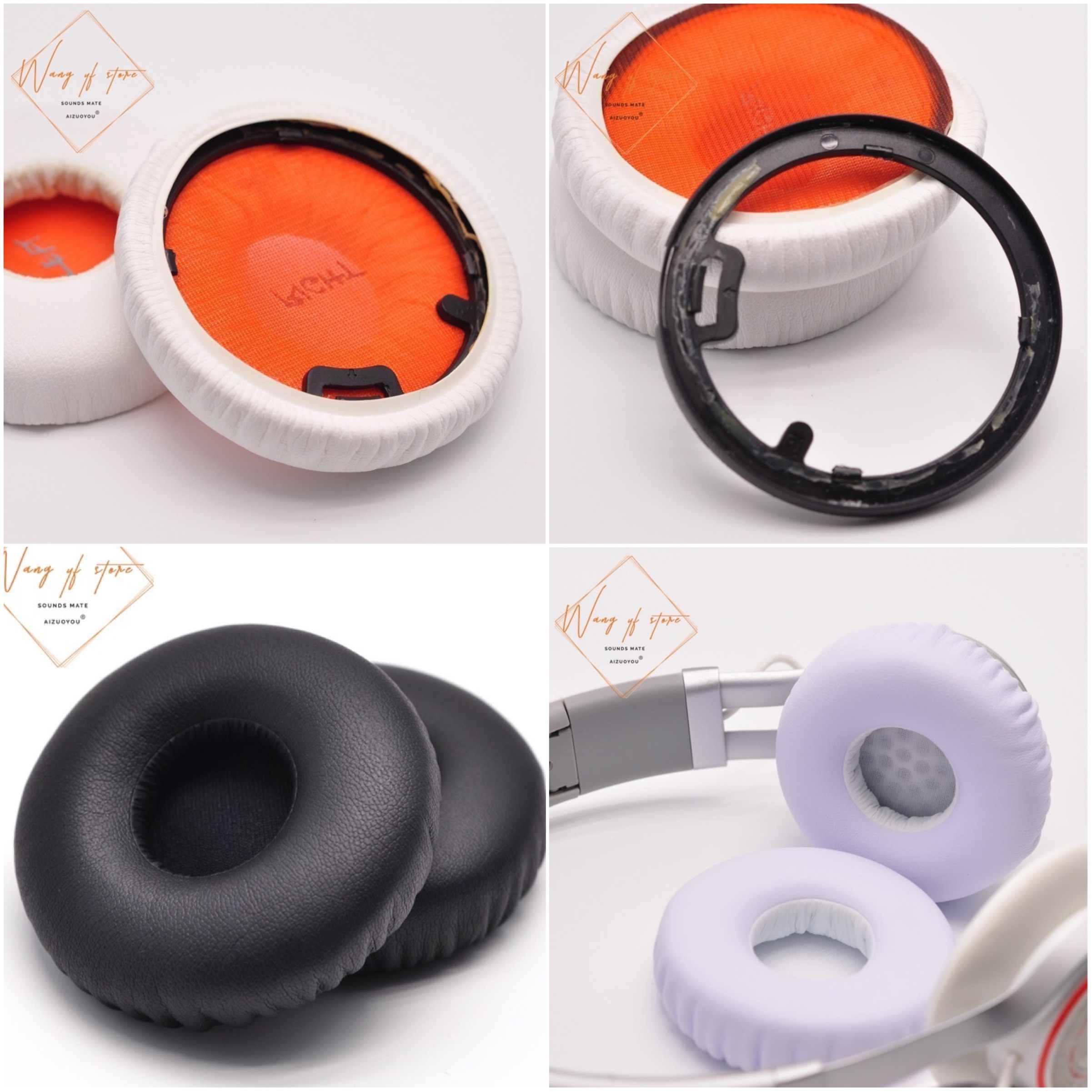 Bellek sünger köpük kulaklık yastığı yumuşak yastık için Jabra Revo  kablosuz kulaklık kulaklık kulaklık|Earphone Accessories