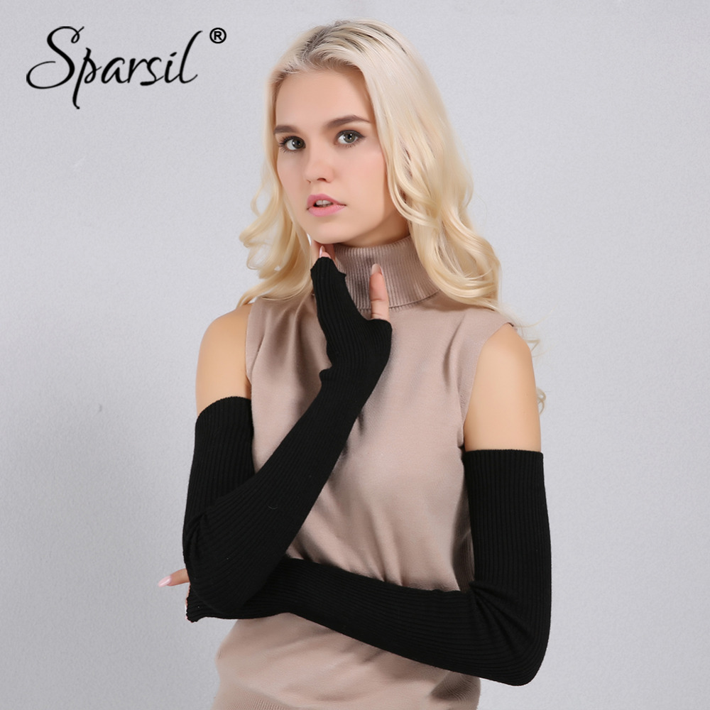 Sparsil Women Winter Long Cashmere