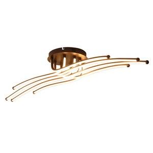 Image 4 - Moderne Led Plafond Verlichting Creatieve Koffie Minimalisme Lamp Voor Woonkamer Slaapkamer Thuis Verlichtingsarmaturen Aluminium Plafondlamp