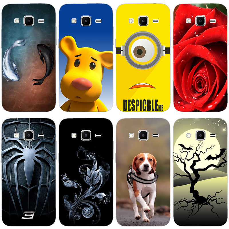 Lovely Fashion Painted <font><b>Case</b></font> For <font><b>Samsung</b></font> <font><b>Galaxy</b></font> <font><b>Core</b></font> <font><b>Prime</b></font> <font><b>G360</b></font> G3606 G3608 G3609 G361F G360H G360F G361H Art printed Cute <font><b>Case</b></font> image