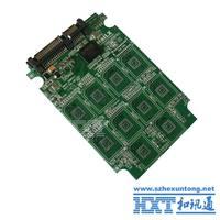 Micro SD to SATA adapter card SATA SSD hard disk adapter card 10*TF group RAID card