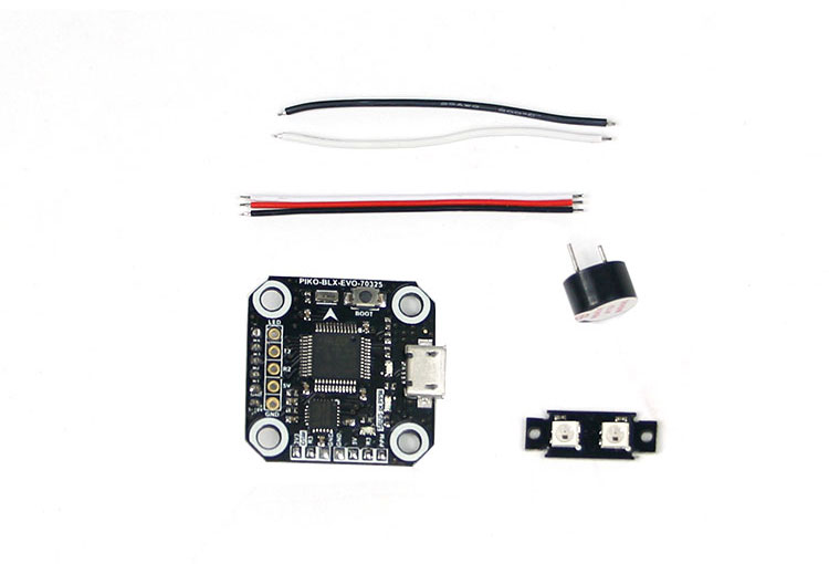 Mini Cube PIKO BLX 2S~3S FC Flight Control Board 20*20mm for Indoor FPV Racer Mini Brushless Drone Quadcopter