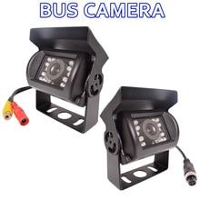 Автобус заднего вида Камера HD CCD автомобиля обратный навигации тупик/AV линии заднего Парковка Водонепроницаемый грузовик 120 градусов ночное видение
