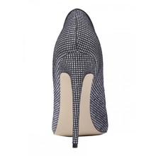 THEMOST New Fashion Shoes Sequins Super High Heels Stiletto Party Wedding Pumps Glittering Pointed Toe Big size34-48 Shoes women