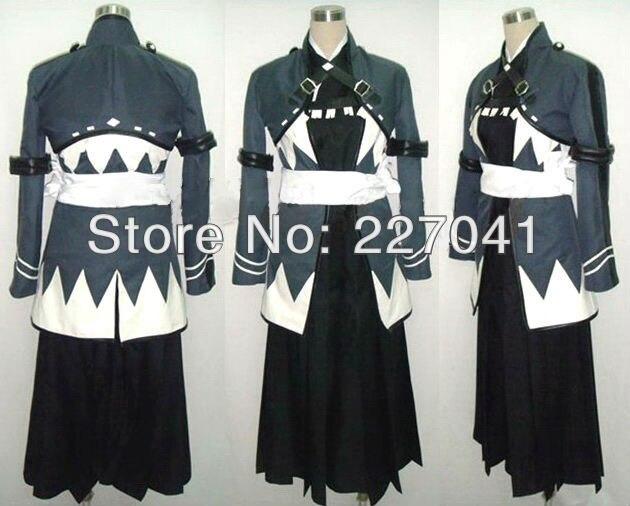 New Hakuouki Shinsengumi Kitan Hajime Saito Coplay Costume