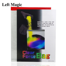 Street-Accessories Magic-Props Stage Force-Bag Mentalism Close-Up G8247 Clear