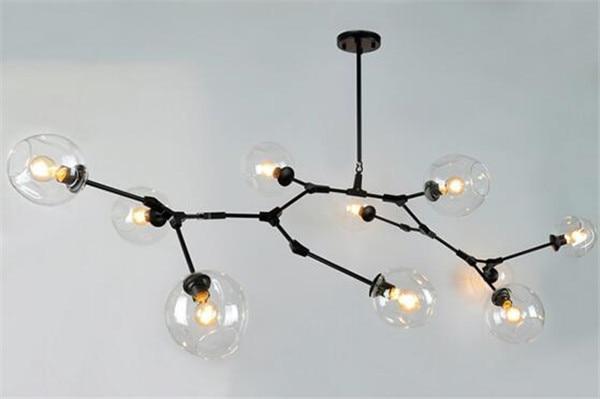 купить hot selling modern Nordic style Personality molecular lamp glass  ball lindsey pendant lighting +free shipping дешево