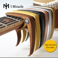 IMiracle High Quality Zinc Alloy Construction And Silicon Padding Capo With Bridge Pin Remover Fit For