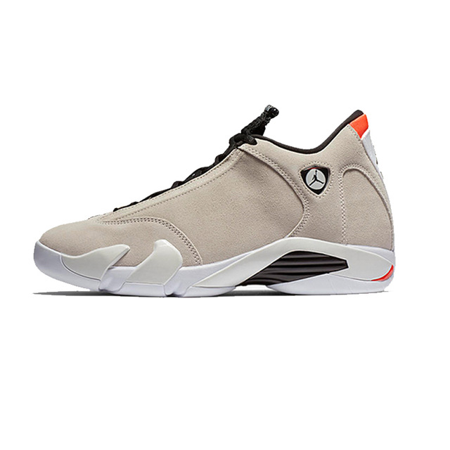 Jordan Retro 14 Desert Sand Basketball Shoes High Cut Winter Outdoor Sneaker Orange Heels Increased Footwear Remote Control Toys