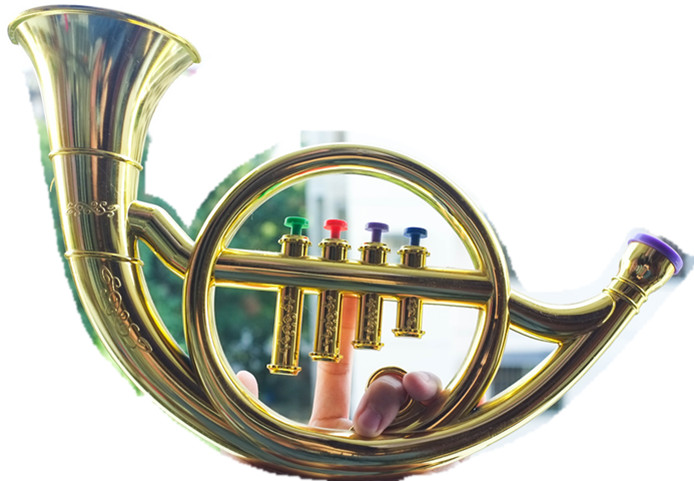 Toy Musical Horns : Kids instruments baby toys music toy french horn in