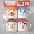 1 pcs de segurança de plástico pp 200 ml colorido bonito dos desenhos animados de animais crianças bebê água leite tea cup caneca