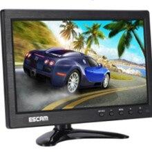 ESCAM Multi-language 10 Inch IPS LCD  CCTV Monitor VGA HDMI AV BNC USB Input