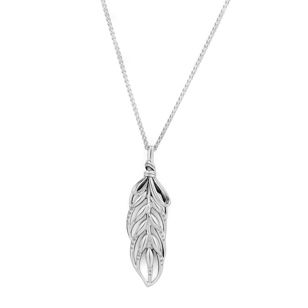 Pendant Necklaces & Pendants Floating Grains Silver Necklace 925 STERLING SILVER JEWELRY choker joyas de plata