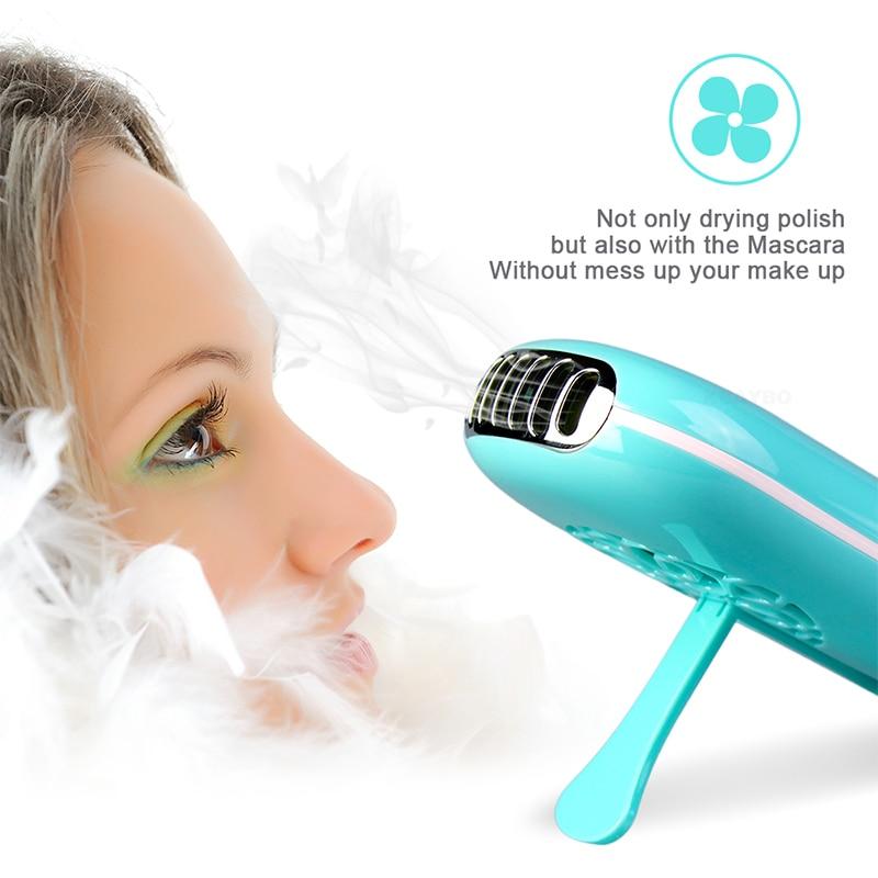 Mini USB Portable Fan Eyelash Dryer Air  False Eye Lash  Mascara Dryer Quick Drying Makeup Device Tools