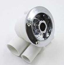 83mm Plastic chrome surface v-shapedmassage jet,3 inch massage tub nozzle,Perfect for bathtub nozzles