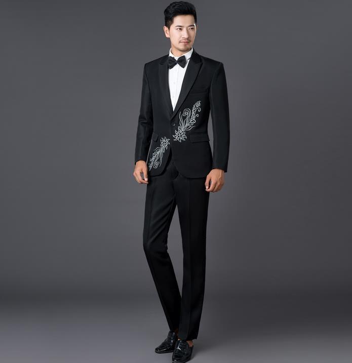 Aliexpress.com : Buy Black white korean 2017 new arrival men slim ...