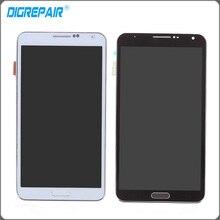 """5.7 """"noir Blanc Pour Samsung Galaxy Note 3 N9005 LCD Affichage Écran Tactile Digitizer avec Lunette Cadre Assemblée Livraison Gratuite"""