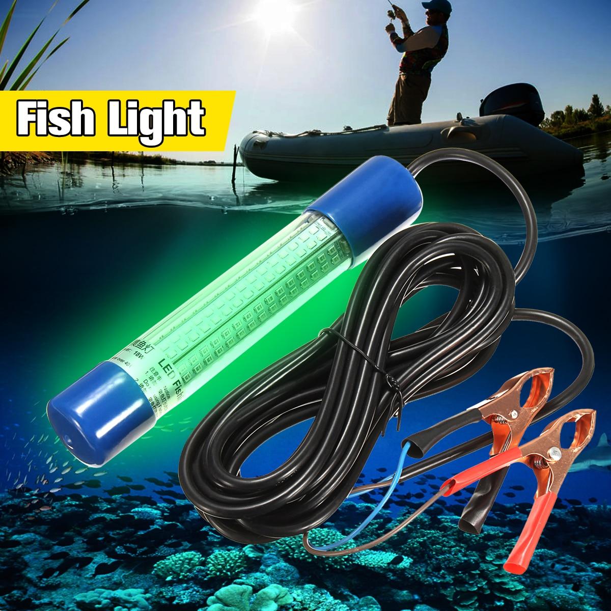 Smuxi 8w Underwater Led Light Bulb Tube 180leds Green