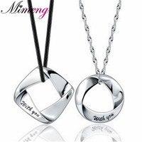 100% 925 sterling silver collane per uomini e donne paio di modelli ciondolo gioielli in argento SPEDIZIONE GRATUITA