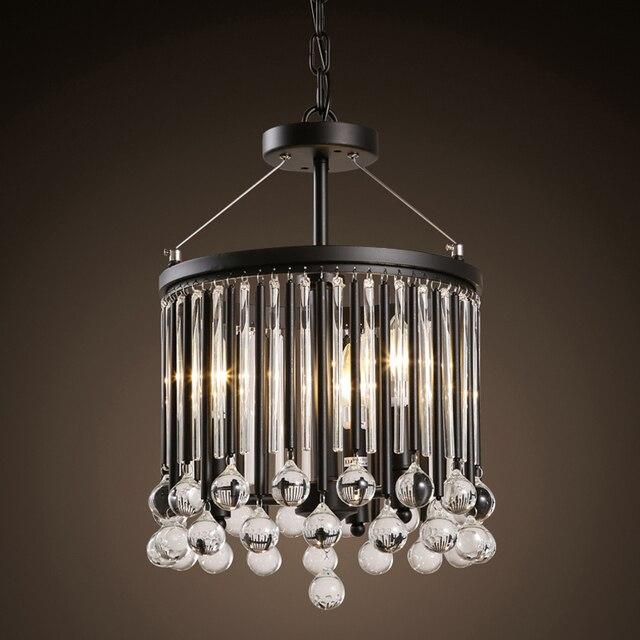 Moderne Klassieke Zwarte Metalen Plafondverlichting Met Regen Drop ...