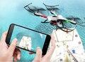 NOVA RC Drone JJRC H31 4CH RC Drones Resistência À Prova D' Água Modo Headless Quadcopter A Cair Quadrocopter Um Retorno vs x401H