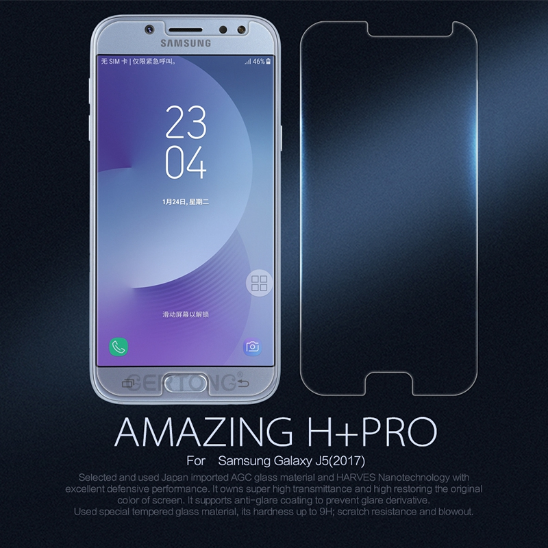 <font><b>9H</b></font> Tempered <font><b>Glass</b></font> For <font><b>Samsung</b></font> <font><b>Galaxy</b></font> J5 J3 J7 2017 <font><b>A3</b></font> A5 <font><b>2016</b></font> Xcover3 Grand Prime G530 S4 S5 S6 Screen Protector Protective Film image