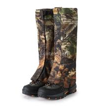 1 Par L / XL Al Aire Libre Camo Impermeable Legging de Nieve Polainas de Gaitero Polainas de Calzado Cubierta de Arranque Caminar Caminar Caza de Camping