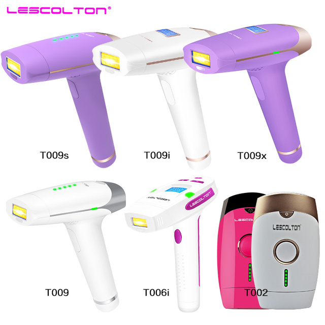 Lescolton series original factory IPL epilator 2in1 laser hair removal machine permanent bikini body underarm for women and men