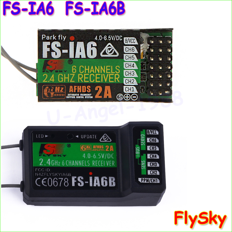 1pcs Original Flysky FS iA6 FS iA6B 6CH 6 Channel Remote Control Receiver Compatible Flysky i4 aliexpress com buy 1pcs original flysky fs ia6 fs ia6b 6ch 6 fs ia6b wiring diagram at soozxer.org