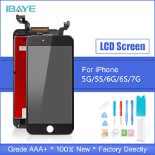 Black White Assembly LCD Display Digitizer for iPhone 6s AAA Quality LCD Touch Screen for iPhone 6 7 5s No Dead Pixel with Gifts все цены
