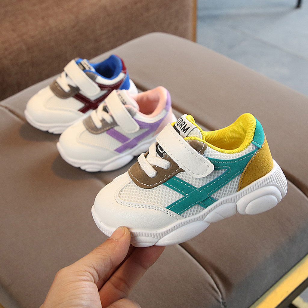 Childrens Lighting Shoes Summer Cloth Cross-strap Air-permeable Sports Shoes Led New Comfortable Sports Shoes Outdoor #yl21 2019 Official Sneakers Baby Shoes