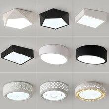 Lámparas de techo LED modernas para sala de estar, lámpara de techo Ideal para sala de estar, estudio, dormitorio, decoración del hogar, AC165-265V