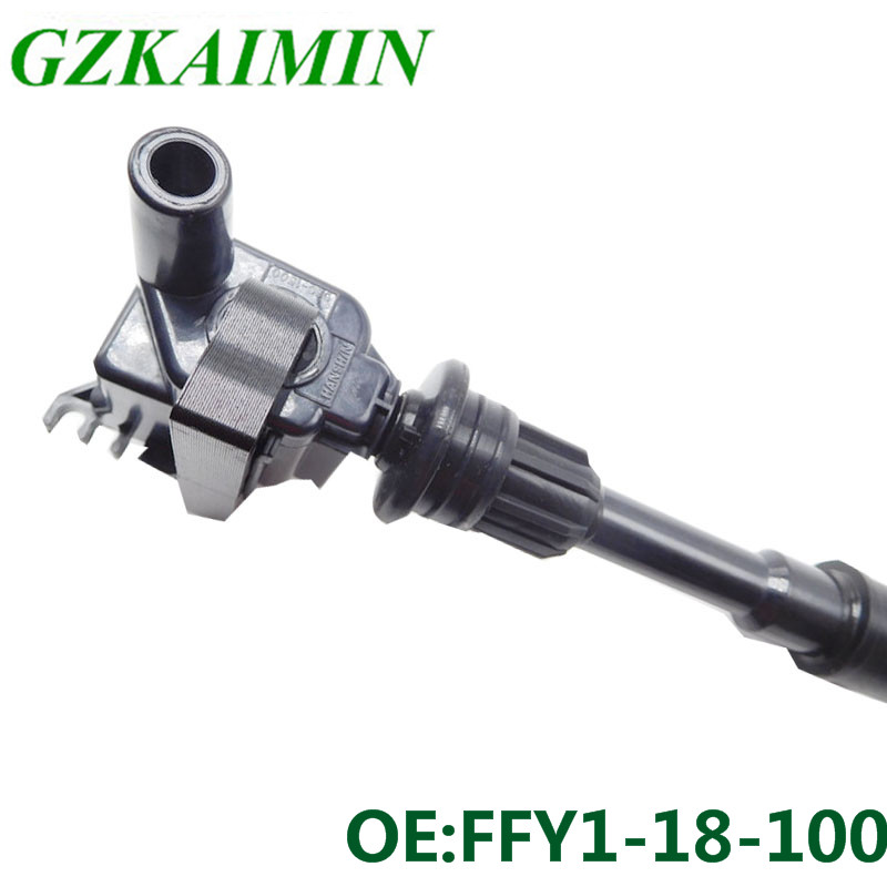 set 2 FFY1 18 100 Fits For Mazda Protege 323 Premacy Pencil Ignition Coil on Plug