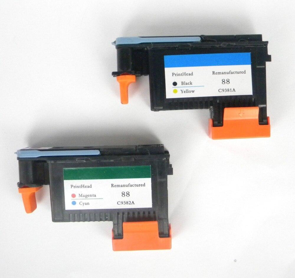 88 C9382A C9381A Black Yellow Cyan Magenta Printhead FOR HP K5300 K8600 L7380 7580 K550 k5400 картридж для принтера hp 88 c9382a magenta and cyan