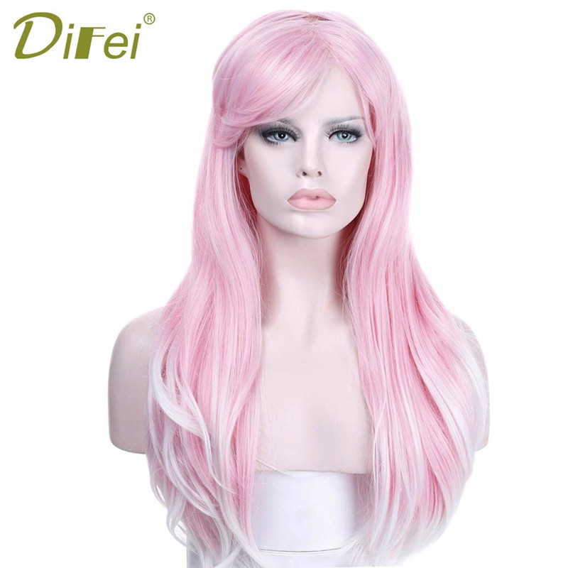 The Best Cateleya Long Straight Anime Fashion Women's Synthetic Pink Cosplay Wig Party Wig With Free Wig Cap Doll Accessories To Prevent And Cure Diseases