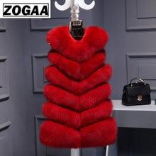 Winter Warm Vest New Arrival Fashion Women Import Coat Fur Vest High-Grade Faux Fur Coat Fox Fur Long Vest Plus Size S-3XL все цены
