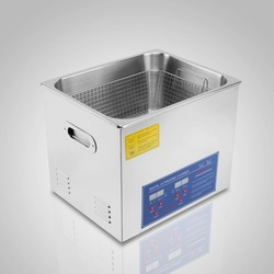 10L Powerful Stainless Steel Ultrasonic Cleaner Durable Construction 220V