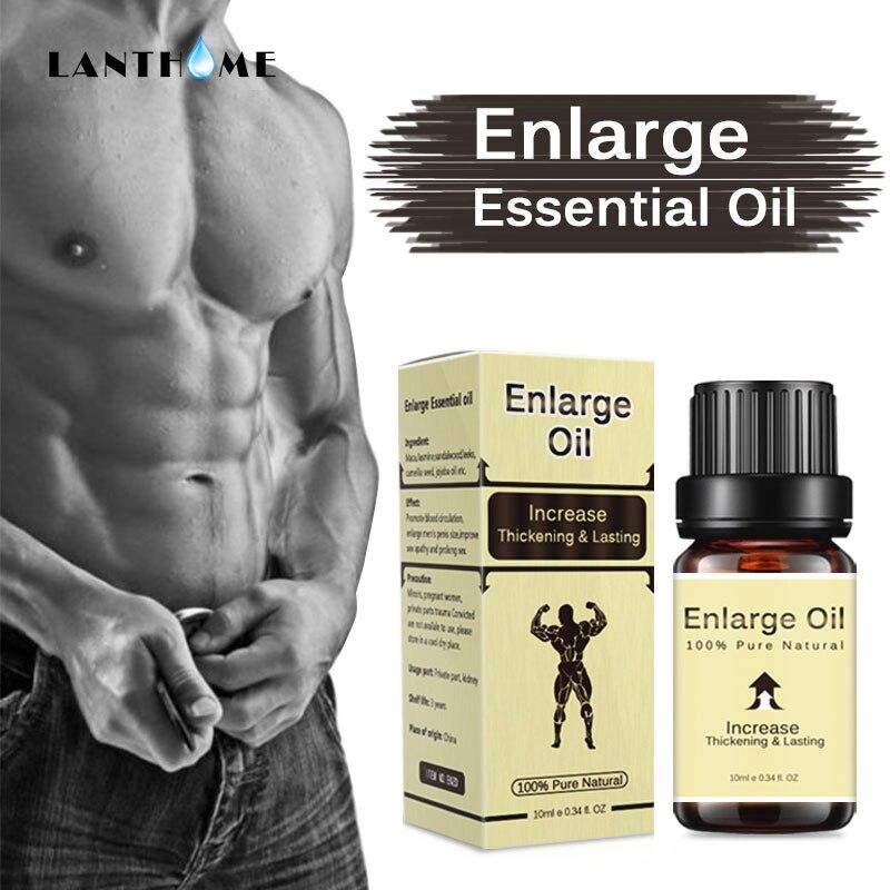 Массажное масло для тела, натуральная смазка для тела, утолщение, долговечная гладкая смазка, уход за телом для мужчин, 100% чистое увеличение ...
